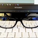 PC作業用メガネ!【i-relax ちかラク + ブルーライト特種加工PCレンズ】確かに楽です。